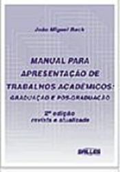 MANUAL PARA APRESENTACAO DE TRAB. ACADEMICOS