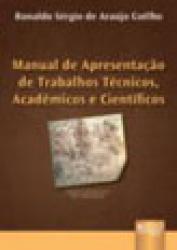 MANUAL DE APRESENTACAO DE TRABALHOS TECNICOS,