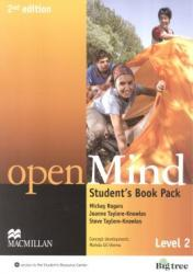 OPEN MIND - LEVEL 2 - STUDENTS BOOK PACK - 2ND ED