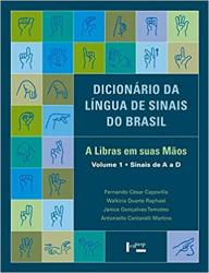 DICIONARIO DA LINGUA DE SINAIS DO BRASIL - 3 VOL
