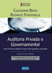 AUDITORIA PRIVADA E GOVERNAMENTAL - 3a ED - 2016