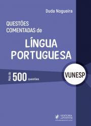QUESTOES COMENTADAS DE LINGUA PORTUGUESA - VUNESP - 2019