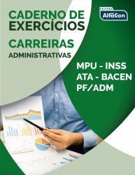 CARREIRAS ADMINISTRATIVAS - CADERNO DE EXERCICIOS - 1a ED - 2019