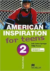 AMERICAN INSPIRATION FOR TEENS - VOL 2 (SB+WB+CD)