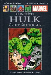 MARVEL GRAPHIC NOVELS - VOL 11 - O INCRIVEL HULK - GRITOS SILENCIOSOS