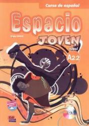 ESPACIO JOVEN A2.2 LIBRO DEL ALUMNO + CD-ROM