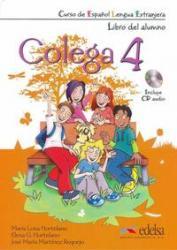 COLEGA 4 - LIBRO DEL ALUMNO + EJERCICIOS + CD AUDIO