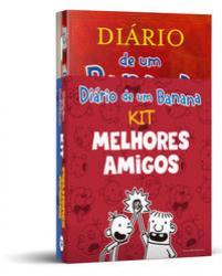 KIT - MELHORES AMIGOS - DIARIO DE UM BANANA