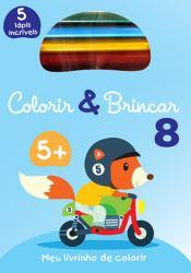 COLORIR & BRINCAR 8 : AZUL