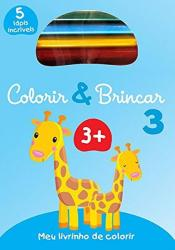 COLORIR & BRINCAR 3 : AZUL
