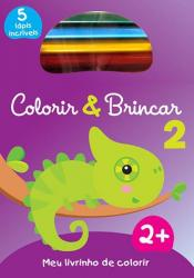 COLORIR & BRINCAR 2 : ROXO