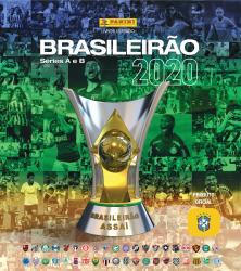 KIT ALBUM CAMPEONATO BRASILEIRO 2020 (CAPA DURA) + 12 ENVELOPES