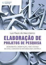 ELABORACAO DE PROJETOS DE PESQUISA
