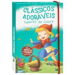 SUPERKIT DE COLORIR: CLASSICOS ADORAVEIS
