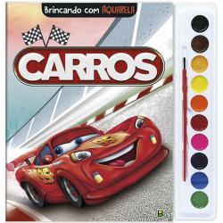 BRINCANDO COM AQUARELA: CARROS