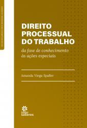 DIREITO PROCESSUAL DO TRABALHO CONHECIMENTO AS ACOES ESPECIAIS