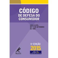 CODIGO DE DEFESA DO CONSUMIDOR - 5a. ED.