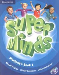 SUPER MINDS BRITISH 1 - STUDENTS BOOK