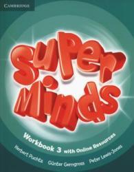 SUPER MINDS BRITISH 3 - WORKBOOK