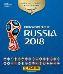 ALBUM DA COPA - RUSSIA 2018 - STARTER PACK - CAPA DURA + 60 FIGURINHAS