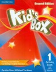 KIDS BOX 1 ACTIVITY BOOK WITH ONLINE RESOURCES - 2ND ED