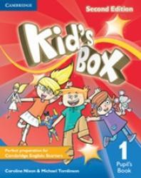 KIDS BOX LEVEL 1 PUPILS BOOK 2ro ED