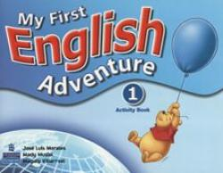 MY FIRST ENGLISH ADVENTURE 1 - ACTIVITY BOOK