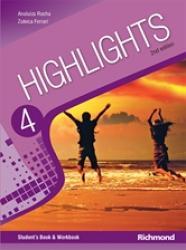 HIGHLIGHTS 4 - 2ND EDITION - LIVRO DO ALUNO + MULTIROM 8RO ANO