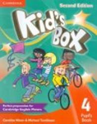 KIDS BOX 4 PUPILS BOOK - 2ND ED