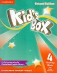 KIDS BOX 4 ACTIVITY BOOK WITH ONLINE RESOURCES - 2ND ED