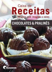 CAIXA DE RECEITA - CHOCOLATES E PRALINES
