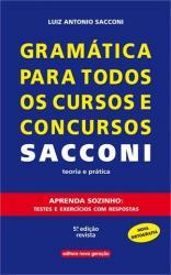 GRAMATICA PARA TODOS OS CURSOS E CONCURSOS SACCONI - TEORIA E PRATICA