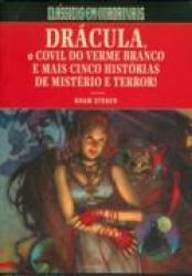 DRACULA, O COVIL DO VERME BRANCO E MAIS CINCO HISTORIAS DE MISTERIO E TERROR !