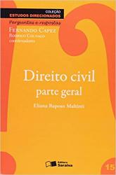 ESTUDOS DIRECIONADOS - CIVIL PARTE GERAL - VOL 15