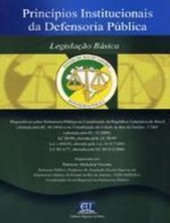 DEFENSORIA PUBLICA - PRINCIPIOS INSTITUCIONAIS