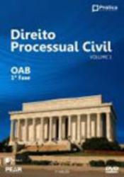 DIREITO PROCESSUAL CIVIL VOL.1 OAB 1a. FASE DVD
