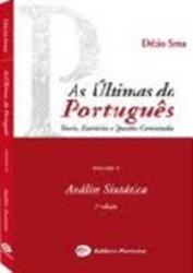 ULTIMAS DO PORTUGUES, AS - VOL.4 - ANALISE SINTATICA
