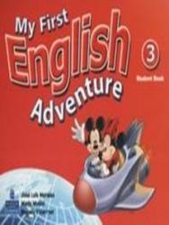 MY FIRST ENGLISH ADVENTURE 3 - STUDENT BOOK
