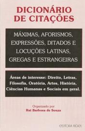 DICIONARIO DE CITACOES