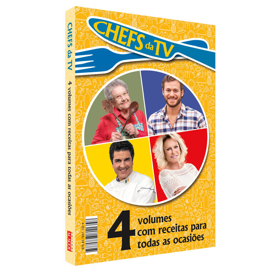 COLECAO CHEFS NA TV