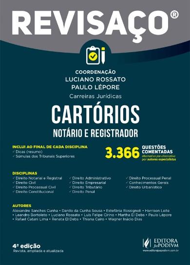 REVISACO - CARTORIOS - 4a ED - 2019