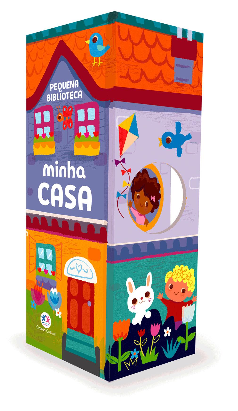 BOX TORRE - PEQUENA BIBLIOTECA - MINHA CASA