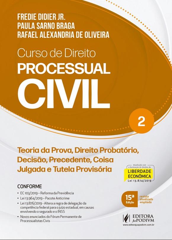 CURSO DE DIREITO PROCESSUAL CIVIL - VOL 2 - 15a ED - 2020