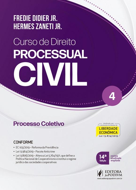 CURSO DE DIREITO PROCESSUAL CIVIL - VOL 4 - 14a ED - 2020
