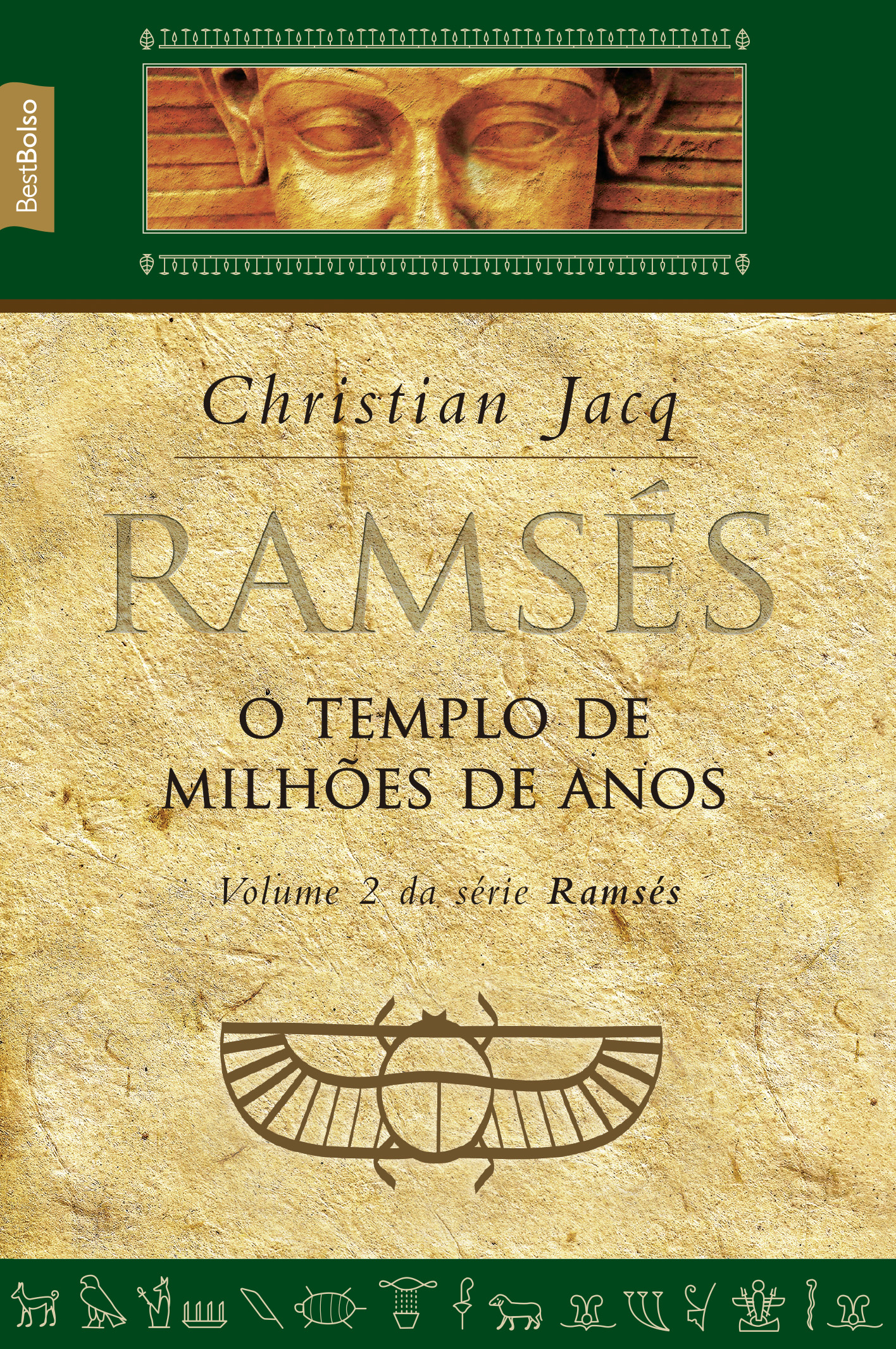 RAMSES - VOL. 2 - O TEMPLO DE MILHOES DE ANOS - BEST BOLSO