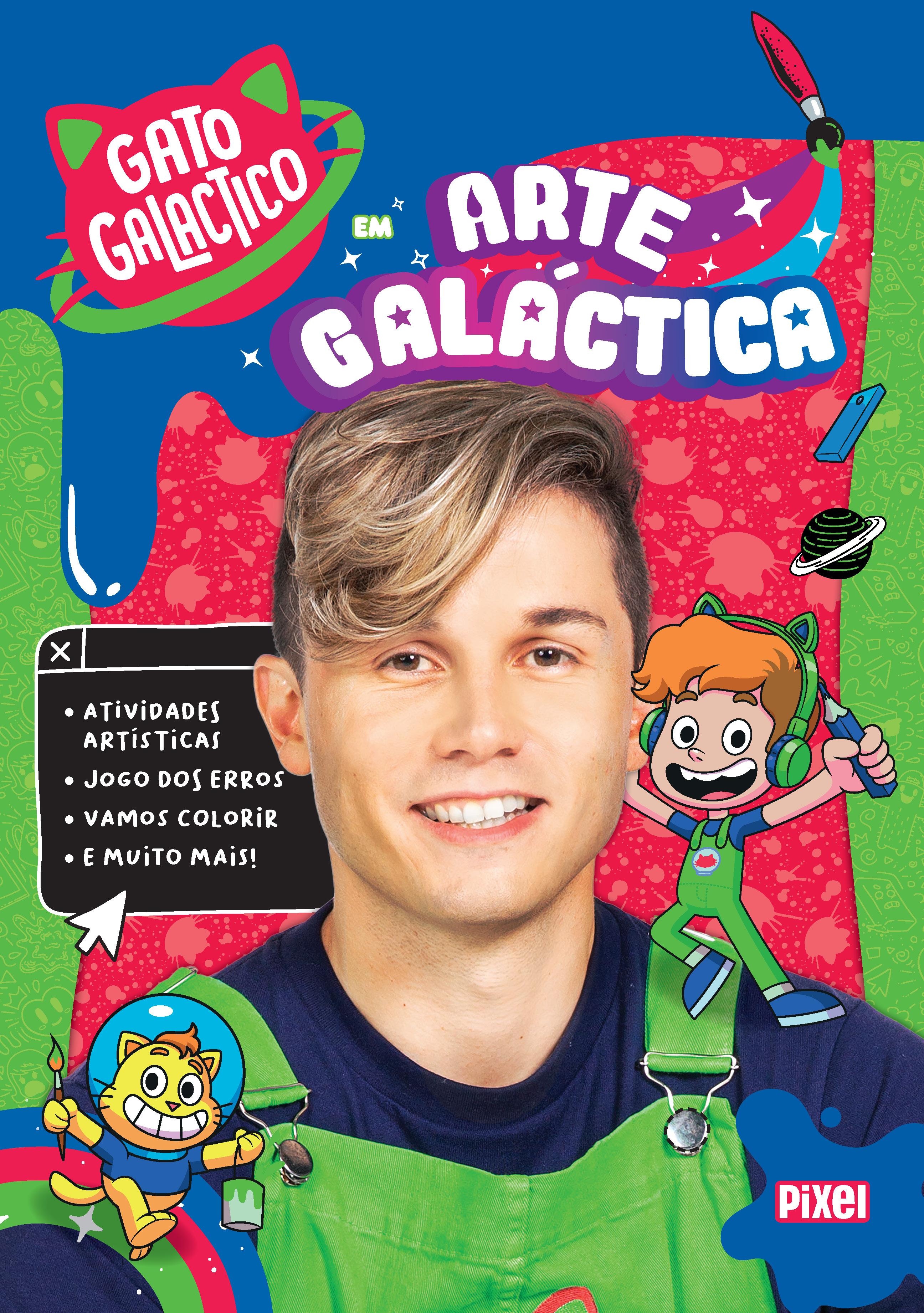 GATO GALACTICO EM ARTE GALACTICA