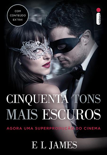 CINQUENTA TONS MAIS ESCUROS - CAPA INSPIRADA NO FILME