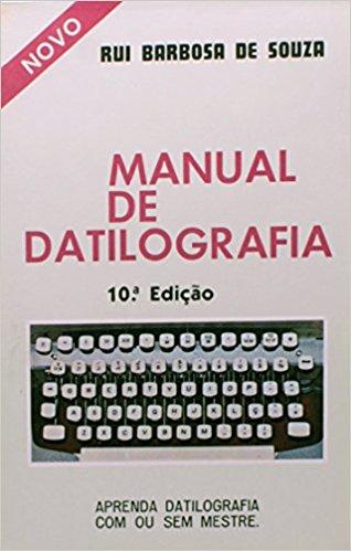 MANUAL DE DATILOGRAFIA