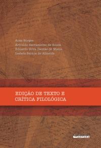 EDICAO DE TEXTO E CRITICA FILOLOGICA